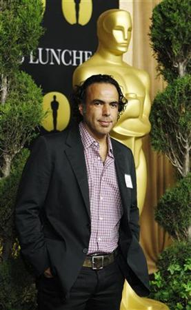 Alejandro Gonzalez Inarritu, director of the best foreign language film nominee for ''Biutiful'', arrives at the nominees luncheon for the 83rd annual Academy Awards in Beverly Hills, California February 7, 2011. REUTERS/Mario Anzuoni