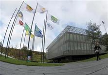 <p>Foto de archivo de la sede central de la FIFA en Zúrich, oct 20 2010. La FIFA dijo el jueves que no cambiará el número de cupos de clasificación de cada continente para el Mundial de Brasil 2014. REUTERS/Christian Hartmann</p>