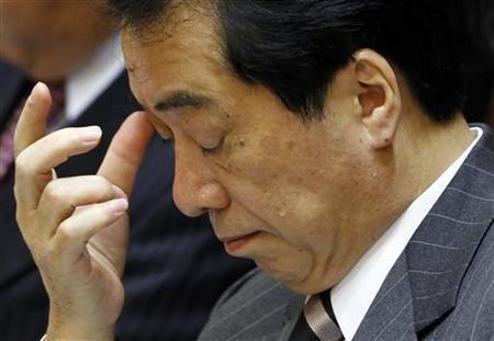 Japan's Prime Minister Naoto Kan attends a budget committee meeting in the lower house of parliament in Tokyo February 28, 2011. REUTERS/Yuriko Nakao