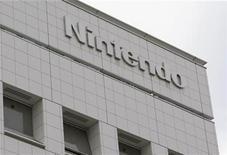 <p>Foto de archivo de la casa matriz de la firma Nintendo en Kioto, Japón, dic 8 2008. Nintendo Co Ltd dijo que se fijó metas ambiciosas para su más reciente sistema de juegos portátil a pesar de la creciente competencia de teléfonos inteligentes como el iPhone de Apple. REUTERS/Issei Kato</p>