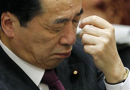Japan's Prime Minister Naoto Kan attends a budget committee meeting in the upper house of parliament in Tokyo March 7, 2011. REUTERS/Toru Hanai