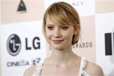 "<p>Australian actress Mia Wasikowska star of the film ""The Kids Are All Right"" arrives at the 2011 Film Independent Spirit Awards in Santa Monica, California February 26, 2011. REUTERS/Danny Moloshok</p>"