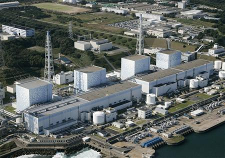 The Fukushima nuclear plant in Fukushima prefecture in northeastern Japan is pictured in a 2008 file photo. REUTERS/KYODO/Files