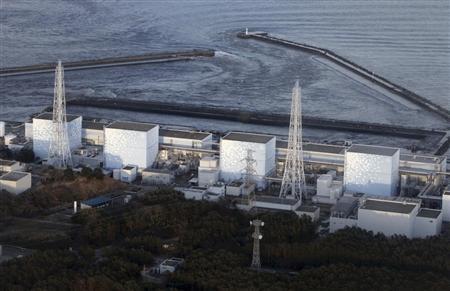 Fukushima Nuclear Plant reactor number 1 Daiichi facility is seen in Fukushima Prefecture, northeastern Japan, March 11, 2011. REUTERS/YOMIURI