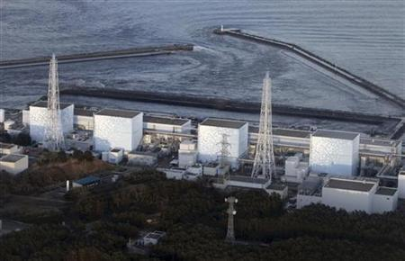 Fukushima Nuclear Plant reactor number 1 Daiichi facility is seen in Fukushima Prefecture, northeastern Japan, March 11, 2011. REUTERS/YOMIURI