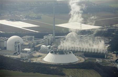 Neckarwestheim nuclear power plant is pictured in Germany March 12, 2011. REUTERS/Ralph Orlowski