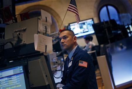 A Specialist works on the floor of the New York Stock Exchange in New York, March 15, 2011. REUTERS/Mike Segar