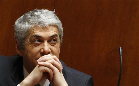 Portugal's Prime Minister Jose Socrates attends a parliament session in Lisbon, March 23, 2011. REUTERS/Rafael Marchante