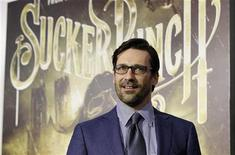 "<p>Cast member Jon Hamm poses at the premiere of ""Sucker Punch"" at the Grauman's Chinese theatre in Hollywood, California March 23, 2011. REUTERS/Mario Anzuoni</p>"