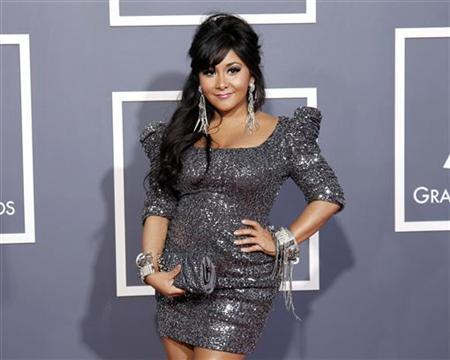 Television personality Nicole ''Snooki'' Polizzi arrives at the 53rd annual Grammy Awards in Los Angeles, California February 13, 2011. REUTERS/Danny Moloshok