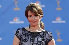 <p>Tina Fey at the 62nd annual Primetime Emmy Awards in Los Angeles, August 29, 2010. REUTERS/Mario Anzuoni</p>