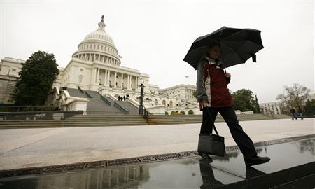 A view of the U.S. Capitol, April 8, 2011. REUTERS/Kevin Lamarque