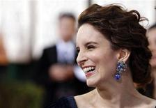 <p>Actress Tina Fey arrives at the 68th annual Golden Globes Awards in Beverly Hills, California January 16, 2011. REUTERS/Danny Moloshok</p>