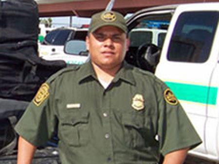 U.S. Border Patrol agent Luis Aguilar in an undated photo. REUTERS/CBP