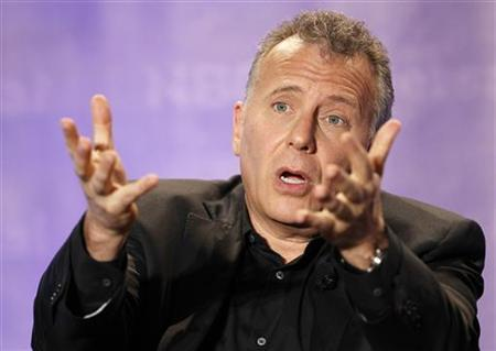 Cast member Paul Reiser answers a question at the NBC panel for the television series ''The Paul Reiser Show'' during the Television Critics Association summer press tour in Pasadena, California April 15, 2011. REUTERS/Mario Anzuoni