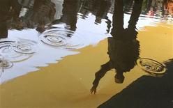"""<p>Российские националисты идут под флагом Российской империи во время акции в Москве 4 ноября 2010 года. Российский суд в понедельник запретил """"Движение против нелегальной иммиграции"""", известное в качестве зачинщика уличных акций. Лидеры ДПНИ связали запрет с прошлогодними беспорядками на Манежной площади в Москве, надеются на помощь суда в Страсбурге и готовятся к новым уличным выступлениям. REUTERS/Nikolay Korchekov</p>"""