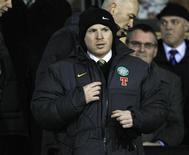 <p>Neil Lennon, técnico do Celtic, durante jogo da Liga Escocesa contra o Inverness Caledonian Thistle. 16/03/2011 REUTERS/David Moir</p>