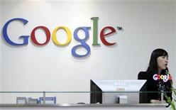 <p>Empleada en la oficina de Google en Seúl REUTERS/Truth Leem</p>