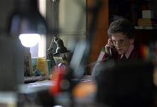 <p>U.S.-born Elizabeth Hawley, former journalist and chronicler of mountain climbing in the Himalayan nation, speaks on a phone in Kathmandu May 5, 2011. When the 87-year-old Hawley came to Nepal in 1960 as a journalist for Time magazine, she had no idea that she was on the road to becoming the most highly-respected chronicler of mountain climbing in the Himalayan nation, home to eight of the world's 14 highest peaks. Today, from her house in Kathmandu, Hawley runs the Himalayan Database, a record of major climbs of the Nepali mountains, and a necessary endorsement for climbers to gain global fame by validating their achievements. Picture taken May 5, 2011. REUTERS/Navesh Chitrakar</p>