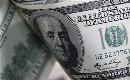 U.S. one hundred dollar notes in a file picture illustration. REUTERS/Lee Jae-Won