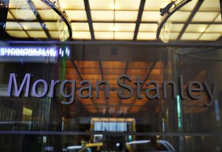 The entrance to the Morgan Stanley headquarters is seen in New York, May 12, 2010. Picture taken May 12, 2010. REUTERS/Shannon Stapleton