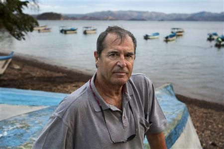 Author Paul Theroux, shown in this undated publicity photograph, began globetrotting 50 years ago which led to the publication of his first travelogue ''The Great Railway Bazaar'' in 1975, considered by many as a classic in travel writing. REUTERS/Copyright © Steve McCurry/Handout