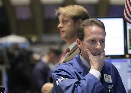 Traders work on the floor of the New York Stock Exchange, May 10, 2011. REUTERS/Brendan McDermid