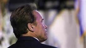 <p>Former California Governor Arnold Schwarzenegger attends the 63rd Israel Independence Day Celebration at the Skirball Center in Los Angeles May 10, 2011. REUTERS/Mario Anzuoni</p>