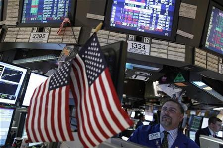 Traders work on the floor of the New York Stock Exchange, May 2, 2011. REUTERS/Brendan McDermid