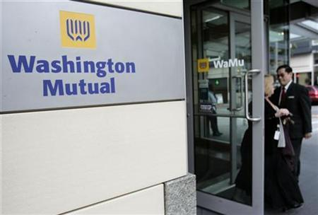 A 2008 file photo shows the then Washington Mutual headquarters in downtown Seattle, Washington. REUTERS/Robert Sorbo