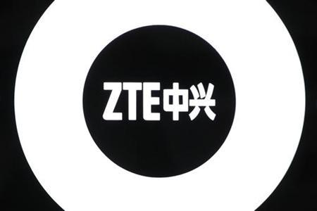The logo of ZTE is seen inside a showroom in Shenzhen, China's southern Guangdong province April 16, 2010. REUTERS/Tyrone Siu