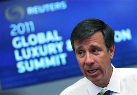 Arne Sorenson, President and COO of Marriott International, speaks during the Reuters 2011 Global Fashion and Luxury Summit in New York, May 24, 2011. REUTERS/Mike Segar