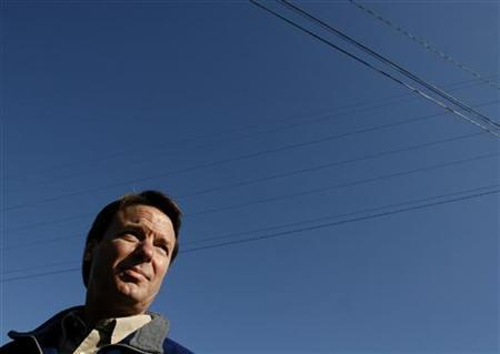 John Edwards speaks to reporters in Conway, South Carolina in 2008. REUTERS/Joshua Lott
