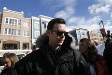 """<p>Foto de archivo del actor Colin Hanks en el Festival de Sundance. Hanks se unió a la película d""""My Mother's Curse"""", de Paramount y Skydance Productions protagonizada por Seth Rogen y Barbra Streisand. Ene 24, 2010. REUTERS/Mario Anzuoni</p>"""