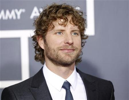 Country music star Dierks Bentley arrives at the 53rd annual Grammy Awards in Los Angeles, California February 13, 2011. REUTERS/Danny Moloshok