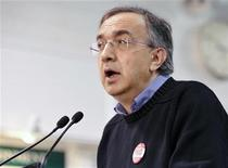 <p>Sergio Marchionne speaks during a news conference at the Chrysler Casting Plant in Etobicoke May 30, 2011. REUTERS/Mike Cassese</p>