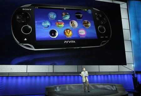 Sony dubs new handheld game player PlayStation Vita