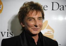 <p>Barry Manilow attends the Pre-Grammy Gala & Salute to Industry Icons with Clive Davis in Beverly Hills, California February 12, 2011. REUTERS/Phil McCarten</p>