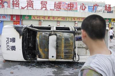 Riots in southern China