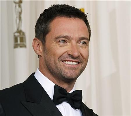 Presenter Hugh Jackman arrives backstage at the 83rd Academy Awards in Hollywood, California, February 27, 2011. REUTERS/Mike Blake