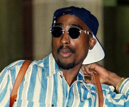 Tupac Shakur in a 1994 photo. REUTERS/File