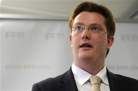 Britain's Treasury Minister Danny Alexander speaks at the Institute for Public Policy Research (IPPR) in London June 17, 2011. REUTERS/Paul Hackett