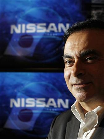 Carlos Ghosn, Chairman and CEO of Nissan and Renault, poses for a picture before the Reuters Rebuilding Japan Summit in Tokyo June 22, 2011. REUTERS/Kim Kyung-Hoon