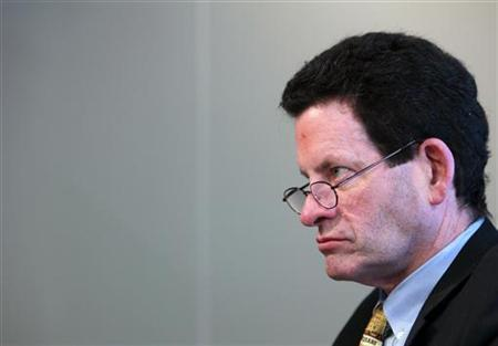 Columnist and Investor Ken Fisher speaks to Reuters in New York, April 14, 2010. REUTERS/Brendan McDermid