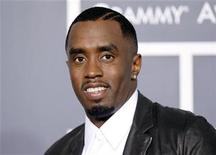 <p>Sean 'Diddy' Combs poses on arrival at the 53rd annual Grammy Awards in Los Angeles, California February 13, 2011. REUTERS/Danny Moloshok</p>