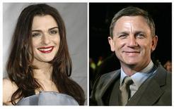 <p>Los actores británicos Daniel Craig y Rachel Weisz contrajeron matrimonio, dijo el domingo un representante estadounidense del último artista en encarnar a James Bond en el cine. REUTERS/Jason Redmond (izquierda) and Luke MacGregor (derecha).</p>
