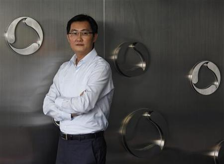 Tencent Chairman and CEO Pony Ma poses at the company's headquarters in Nanshan Hi-Tech Industrial Park in the southern Chinese city of Shenzhen during an interview with Reuters June 9, 2011. REUTERS/Bobby Yip