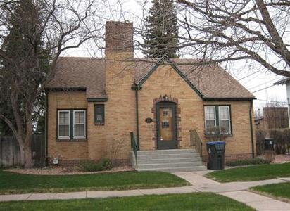 The building at 2710 Thomes Avenue, is pictured in Cheyenne, Wyoming, in this undated photograph. REUTERS/Kelly Carr