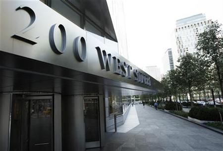 A sign shows the address of the Goldman Sachs headquarters building in New York July 19, 2010. Goldman Sachs will report its second quarter earnings on July 20. REUTERS/Lucas Jackson