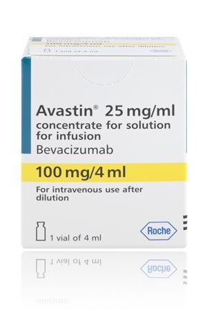 Avastin in an undated image courtesy of Roche. REUTERS/Handout